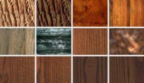 Сочетание цветов древесины в мозаике. Часть 2